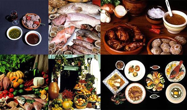 Platos de comida de las Islas Canarias