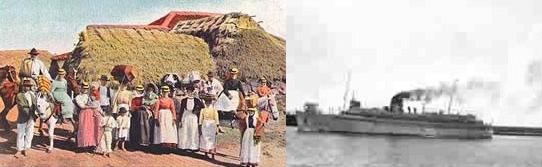 Fotografía antigua del puerto